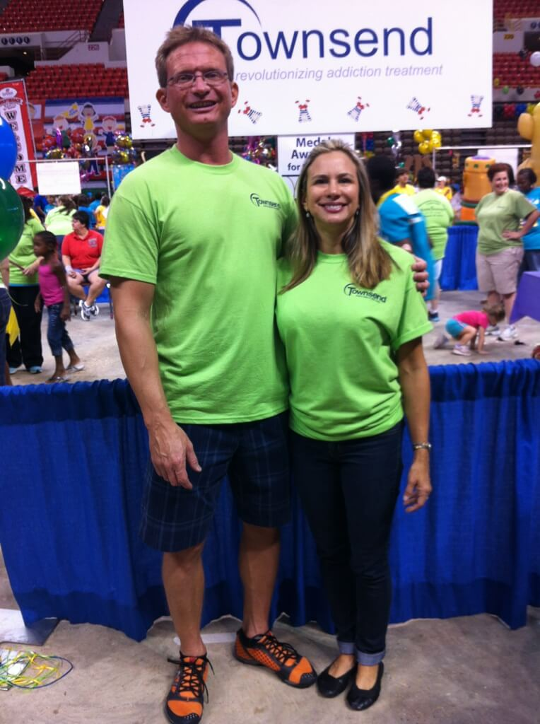 Michael and Schanda Handley at Games of Acadiana